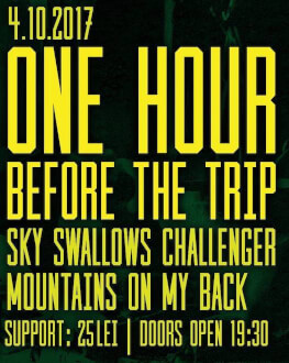 One Hour Before The Trip / Sky Swallows Challenger / MOMB