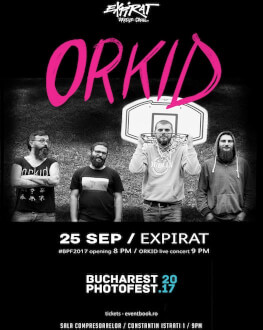 Orkid live at Bucharest Photofest