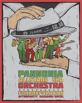Pannonia Allstars Ska Orchestra & FUNKorporation live