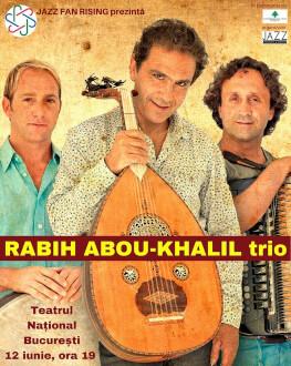 Rabih Abouh-Khalil trio ÎN PREMIERĂ în România Jazz Fan Rising | JAZZ ÎNTRE ORIENT ȘI OCCIDENT