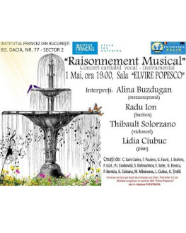 Raisonnement Musical Concert caritabil vocal-instrumental