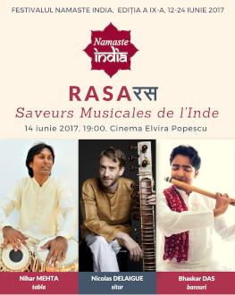 RASA - Saveurs Musicales de l'Inde Namaste India 2017