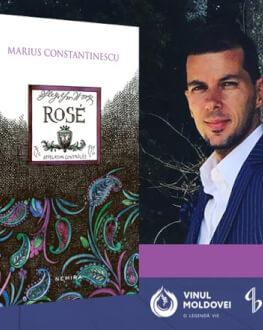 Jurnalistul cultural Marius Constantinescu lansează volumul Rosé duminică, 17 decembrie Editura Nemira
