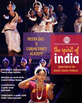 The Spirit Of India - Spectacol extraordinar de dans clasic Meera Das & Gunjan Dance Academy