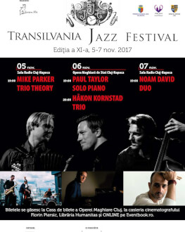 Mike Parker Trio _Theory (USA/Poland) Transilvania Jazz Festival 2017