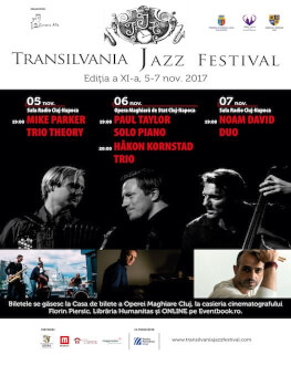 Paul Taylor_Solo Piano (UK) + Håkon Kornstad Trio (Norvegia) Transilvania Jazz Festival 2017
