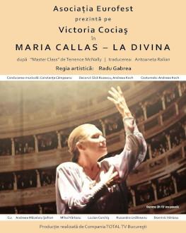 Maria Callas - La Divina UNDERCLOUD 2017 - Spectacol invitat