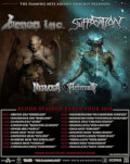 Venom Inc. [uk] Suffocation[ us], Nervosa [br], Aeternam [ca] Live
