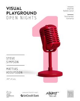Visual Playground Open Nights 2017 - #1 Steve Simpson / Mattias Adolfsson