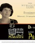 """Cărțile care ne-au făcut oameni, cu Dan C. Mihăilescu și Ioana Pârvulescu """" De ce (și cum) citim romane?"""""""