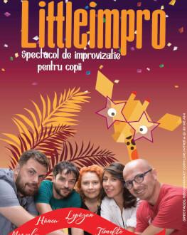 LittleImpro Spectacol de improvizație pentru copii