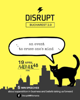 DisruptHR Bucharest 2.0 THE REBELLIOUS FUTURE OF HR - NOT JUST FOR HR PEOPLE