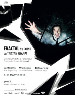 FRACTAL by POINT cu Tristan Sharps, creator de teatru imersiv