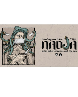 Nadja [ca] / Aidan Baker [ca] / Swarms And The Sun [ro]
