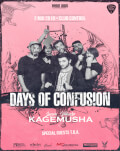 Days of Confusion - lansare videoclip Kagemusha Invitați: Zagan, MB Project