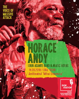 HORACE ANDY with Dub Asante Band & Matic Horns DokStation 2018