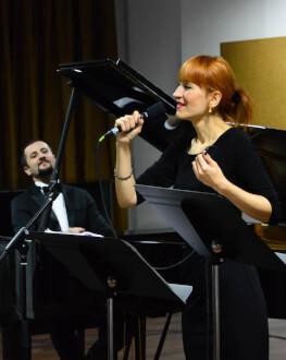 Concert ''Paris, mon Amour'' Cu Diana Tudor (voce) și Alexandru Burcă (claviaturi)