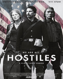 Hostiles Saturday, 21 April 2018 Cinema Muzeul Taranului - Studio H. Bernea, București