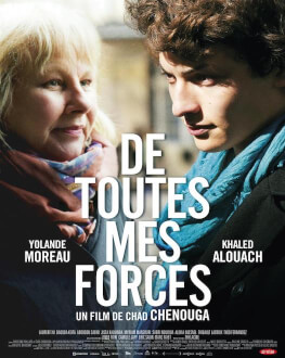 De toutes mes forces / Din toate puterile Friday, 27 April 2018 Cinema Elvire Popesco, București