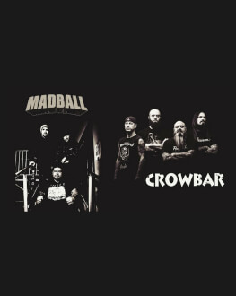Madball [us], Crowbar [us], Guerrillas [ro] live