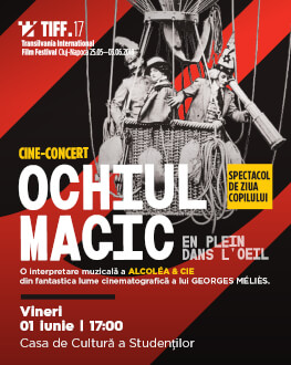 Special 1st of June cine-concert: Right in the Eye TIFF.17