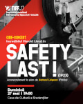 Cine-concert: Safety Last! Accompanied live by Samuel Liégeon