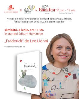 """""""Frederick"""" de Leo Lionni Atelier de narațiune creativă"""
