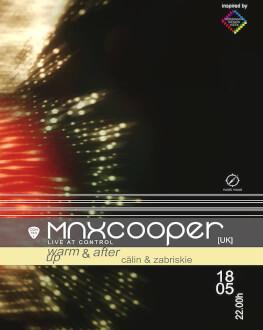 Max Cooper Live AV / Calin & Sasha Leo