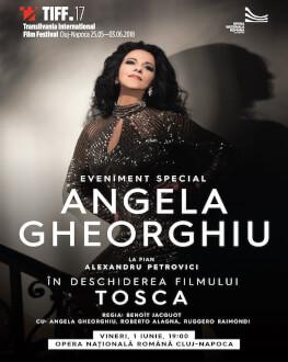 Special event: Angela Gheorghiu recital and screening of Tosca Piano accompaniment: Alexandru Petrovici
