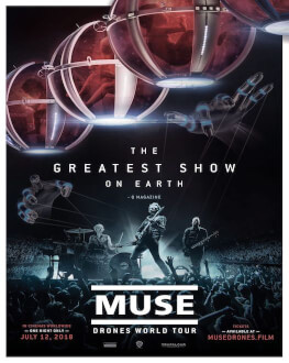 Transmisiune concert Muse - Drones World Tour