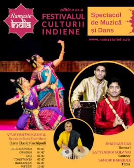 Festivalul Namaste India Spectacol de Muzică și Dans