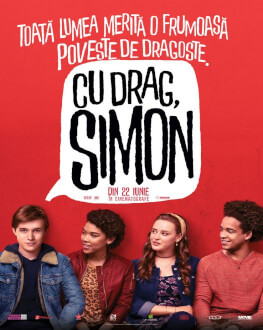 Love, Simon / Cu drag, Simon Tomorrow, 23 June 2018 Cinema Dacia, Piatra-Neamț