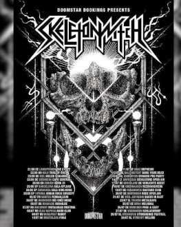 Hard Time in Hard Club: Skeletonwitch [us], Left Hand Path [ro]