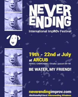 Mixed Cast #1 - Be Water, My Friend! #1 // Familie - Together NEVERENDING - International ImpROv Festival