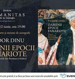 """Despre """"Oamenii epocii fanariote"""" de Tudor Dinu, o fascinantă istorie vizuală a oamenilor din țările române în veacul al XVIII marți, 12 iunie, ora 19, la Librăria Humanitas la Cișmigiu"""