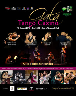 GALA TANGO CAZINO 2018 Festivalul Internațional de Tango Argentinian TANGO CAZINO 2018