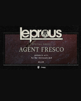 Leprous [no], Agent Fresco [is] live