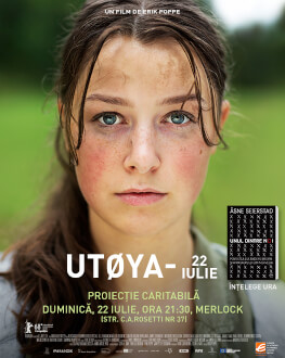 Utøya - 22 iulie Proiecție caritabilă