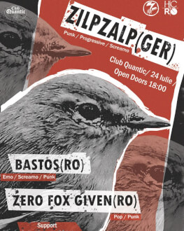 ZilpZalp [GER]/ Bastos/ Zero Fox Given Live at Quantic Open Air