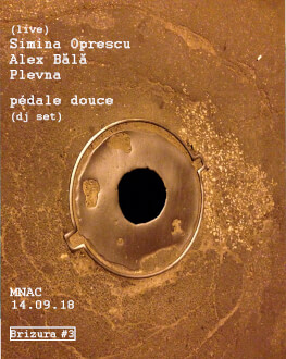 Brizura #3 LIVE @MNAC Simina Oprescu // Alex Bălă // Plevna