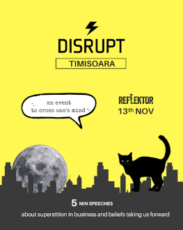 DisruptHR Timisoara 1.0 THE REBELLIOUS FUTURE OF HR