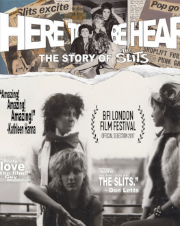 HERE TO BE HEARD: THE STORY OF THE SLITS DokStation 2018