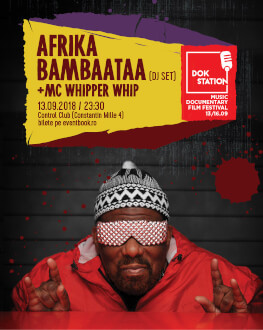 DokStation presents AFRIKA BAMBAATAA + MC Whipper Whip (Dj Set)
