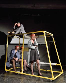 UNDERCLOUD 2018: În umbra marelui plan Festivalul Internațional de Teatru Independent UNDERCLOUD Ediția a XI-a: 22-31 august