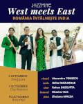 West meets East @ BUCUREȘTI | Povestea continuă ! JAZZMINE | Alexandru Tomescu & friends | România întâlnește India