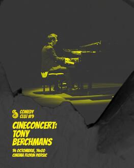 Cineconcert: Tony Berchmans Comedy Cluj 2018