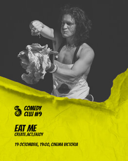 Eat Me Comedy Cluj 2018