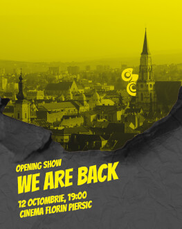 Opening Show: We are back Comedy Cluj 2018