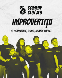 IMPROVertiții Comedy Cluj 2018