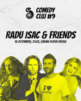 Radu Isac & Friends Comedy Cluj 2018